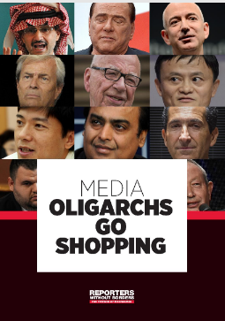 "Media - when oligarchs go shopping"" – RSF"